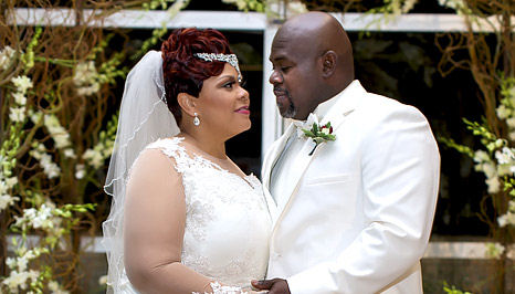 DAVID AND TAMELA MANN RENEW THEIR WEDDING VOWS: Finally Get Dream
