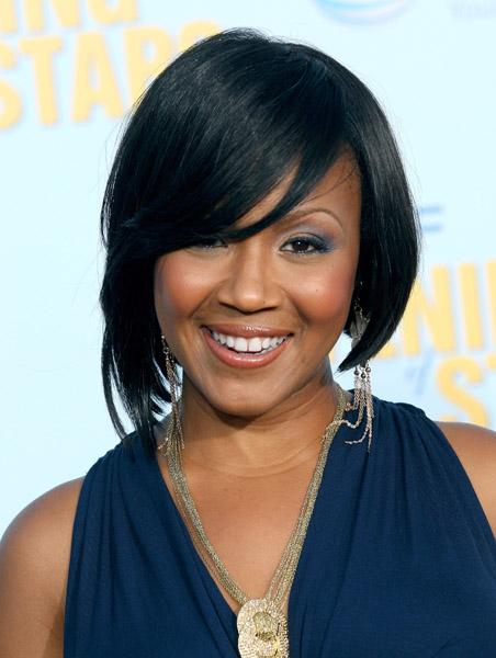 Pleasant Erica Campbell Path Megazine Short Hairstyles For Black Women Fulllsitofus