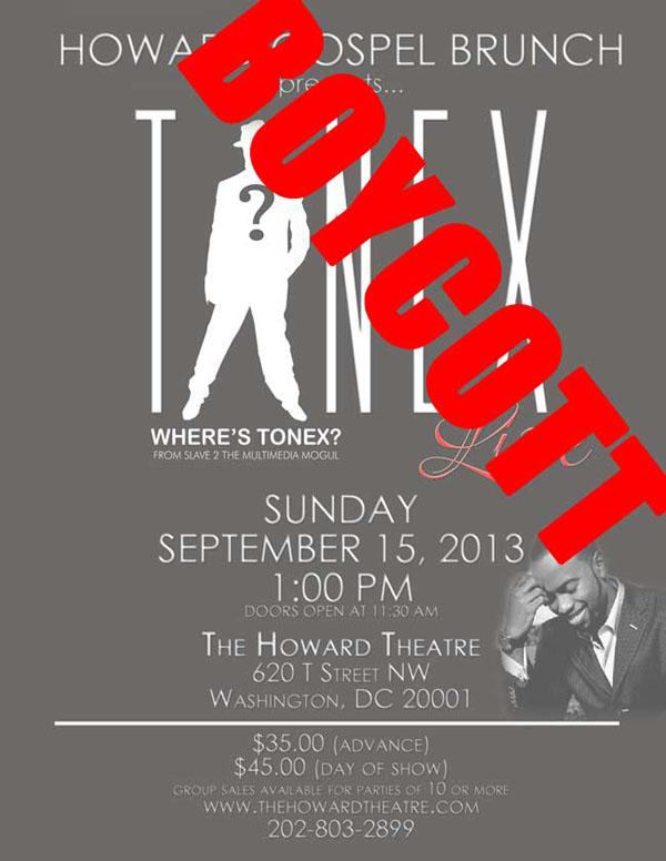 Boycott of TONEX's Gospel Comeback Concert Gaining Supporters