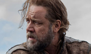 Russell Crowe as Noah in Darren Aronofsky's biblical epic of the same name