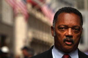 Jesse Jackson Holds Press Conf. On Economic Crisis At Wall Street