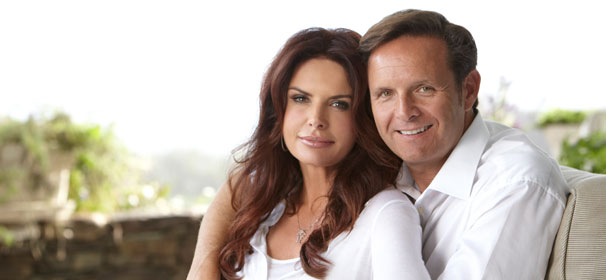 Roma Downey mark burnett married