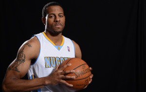 Andre Iguodala Press Conference and Portraits