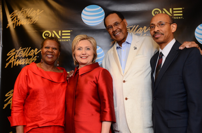 Leonard Scott - Hillary Clinton at Stellars