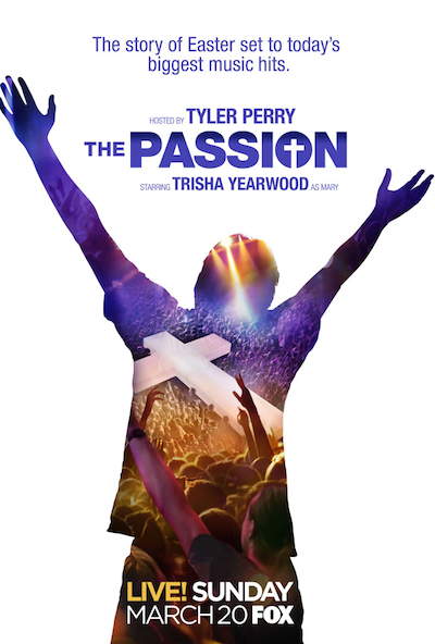 """Tyler Perry to Host the Story of Easter """"The Passion"""""""