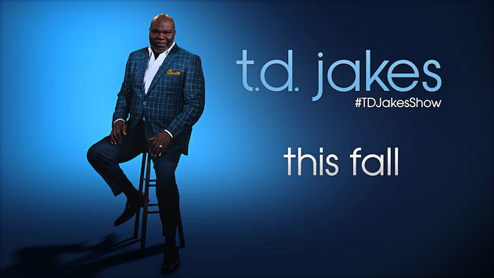 TD Jakes Cleared for New Talk Show, Debuts September 12th in 50 Cities