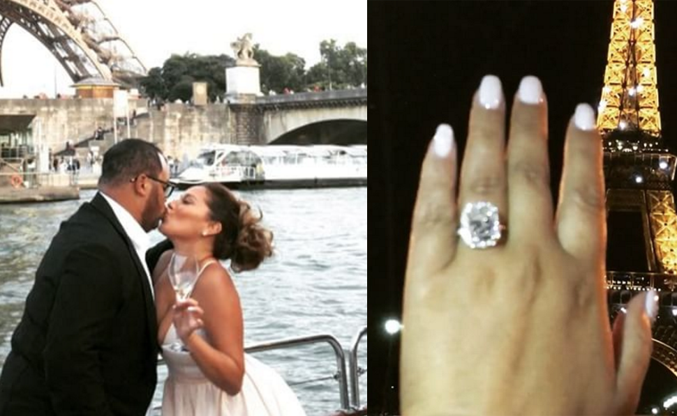 """Israel Houghton Proposes to """"The Real"""" Talk-Show Host Adrienne Bailon!"""