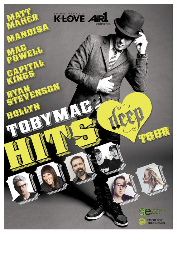 Tobymac tour dates in Sydney