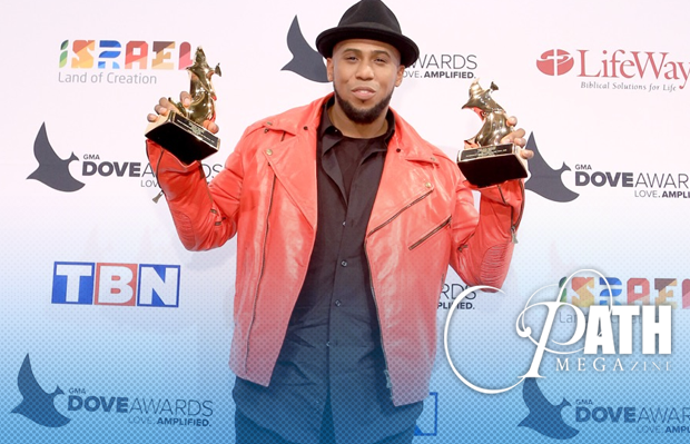 Anthony Brown's Grateful Mom Accepts One of His Dove Awards, As Group TherAPy Takes Home Two