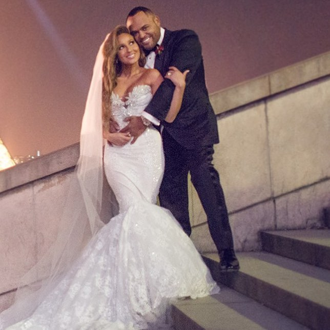 IT'S OFFICIAL Israel Houghton Marries Adrienne Bailon