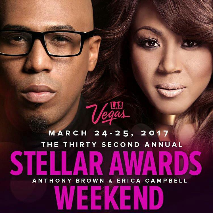 Erica Campbell and Anthony Brown to Host 2017 Stellar Awards