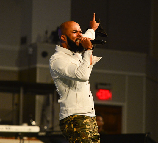 """Exclusive Photos from """"The Bloody Win"""" Tour feat. Tye Tribbett & JJ Hairston"""