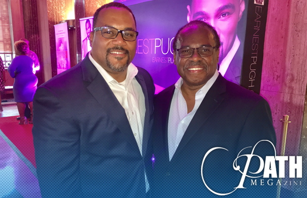 Recap of Earnest Pugh's Big Night with Houston Mayor Sylvester Turner [PICTURES]