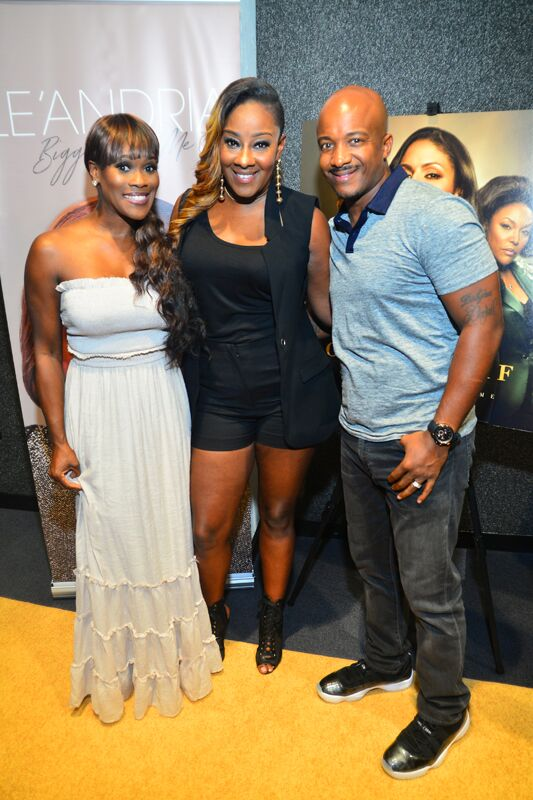 Le'Andria Johnson Tears Up Album Release Party [PICTURES]