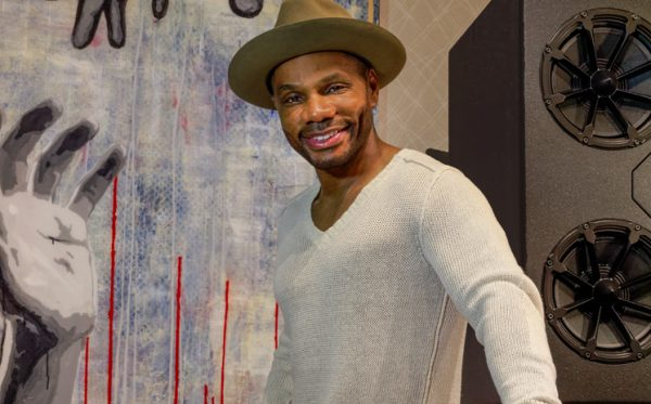 Details of Kirk Franklin's New State of the Art Recording Studio in Arlington, TX