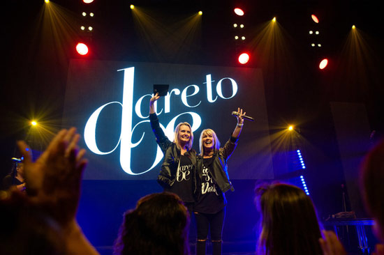 SIX-TIME GRAMMY NOMINEE NATALIE GRANT AND INTERNATIONAL AUTHOR/SPEAKER CHARLOTTE GAMBILL ANNOUNCE 'DARE TO BE' TOUR