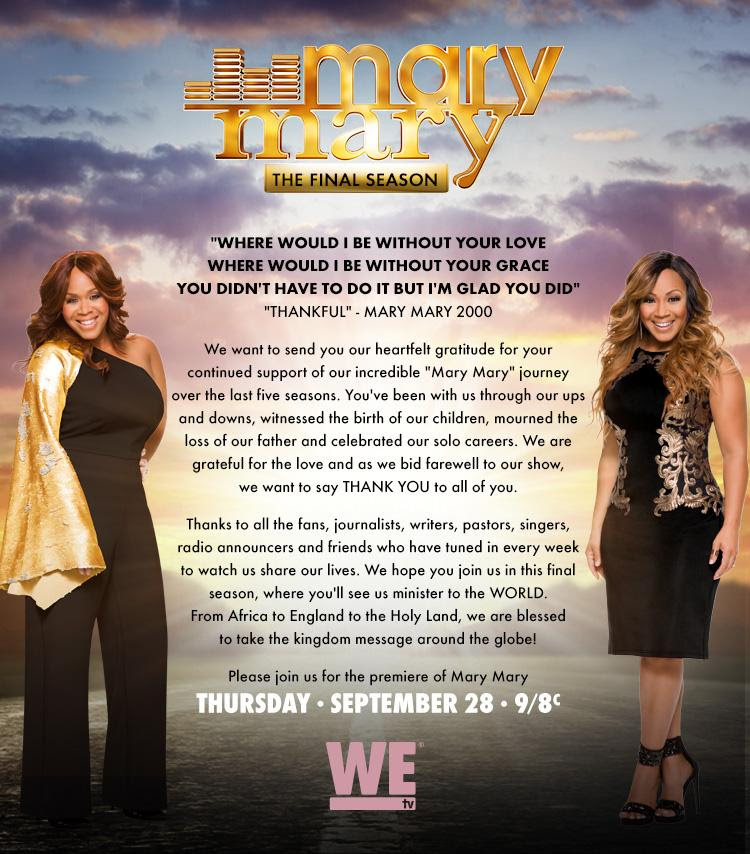 MaryMary_WeTV-Statement