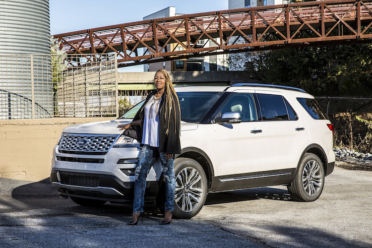 """LE'ANDRIA JOHNSON PARTNERS WITH MID-SOUTH FORD DEALERS ON FORD MUSIC CAMPAIGN, FEATURING ACCLAIMED SONG """"ALL I GOT"""""""