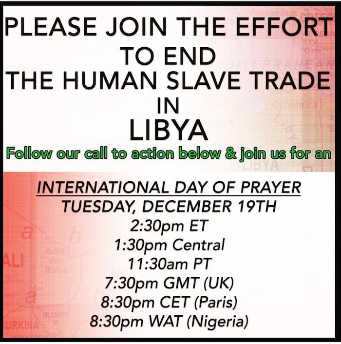Tina Campbell Talks Slavery in Libya, To Host Day of Prayer