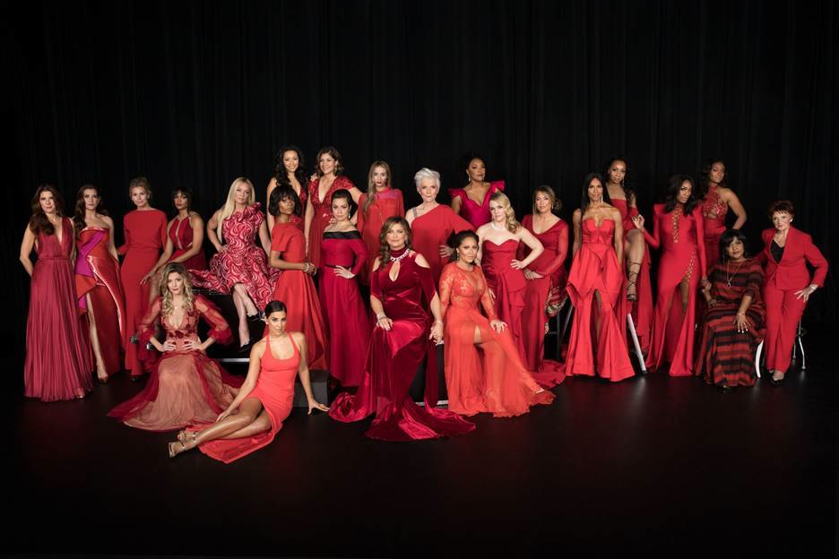 CeCe Winans and Other Celebrities Go Red for American Heart Association