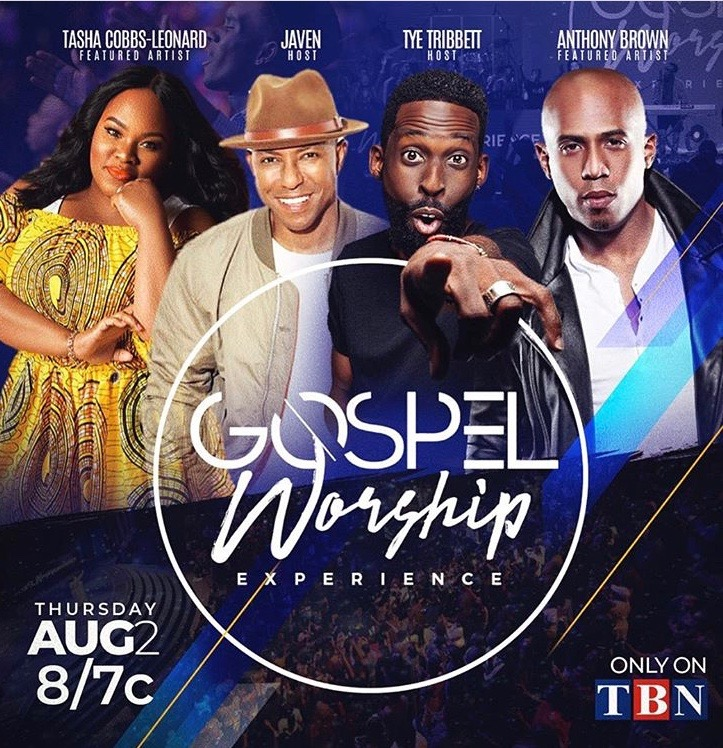 TBN to Debut Dynamic New Musical Series Hosted By TYE TRIBBETT & JAVEN