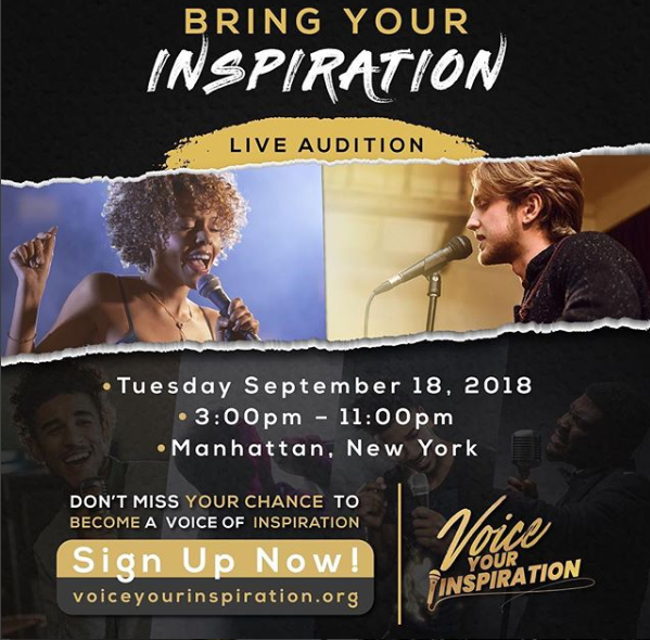 CHEW ENTERTAINMENT AND RCA INSPIRATION ANNOUNCE NATIONWIDE TALENT CONTEST AND LIVE AUDITIONS