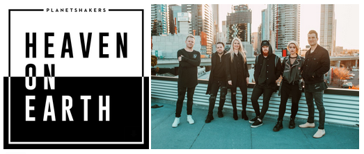 """PLANETSHAKERS BAND TO RELEASE """"HEAVEN ON EARTH"""" CD/DVD OCT. 19"""