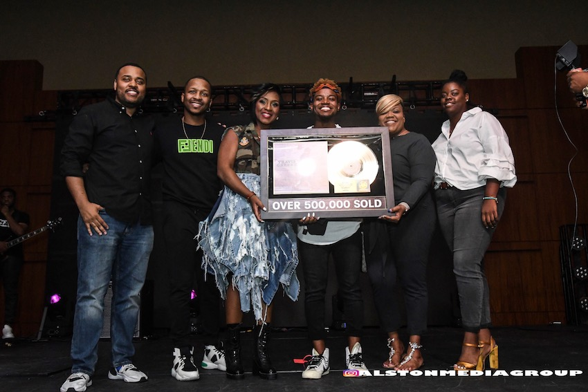 "Travis Greene's Hit ""Intentional"" Certified Gold, Speaks on Success"