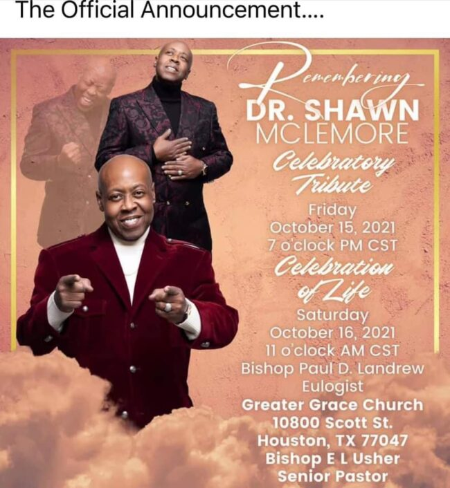 Shawn McLemore's Wife Clears Up Cause of Death – Announces LIVE Streamed Funeral